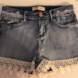 Girls Lei Jean Shorts